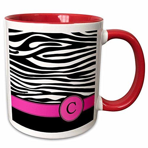 3dRose InspirationzStore Monograms personalized mug 154274 5
