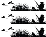 Pheasant Hunting Birthday - Side Strip - Edible Cake Party Topper - D24035