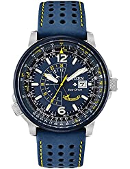 Citizen BJ7007-02L Promaster Nighthawk Mens Watch Blue 42mm Stainless Steel