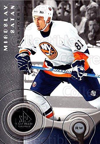 ((CI) Miroslav Satan Hockey Card 2005-06 Sp Game Used (base) 63 Miroslav Satan)
