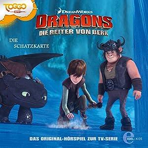 Die Schatzkarte (Dragons: Staffel 1 - Die Reiter von Berk 4) Hörspiel
