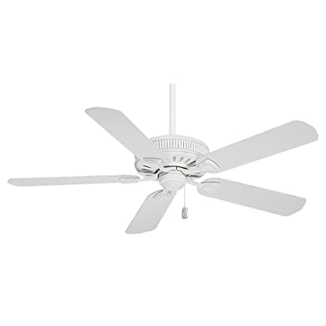 Amazon casablanca 54000 ainsworth 54 inch ceiling fan with casablanca 54000 ainsworth 54 inch ceiling fan with five blades cottage white mozeypictures Images