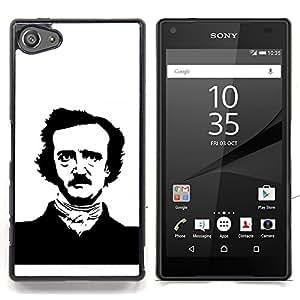 For Sony Xperia Z5 compact / mini - Edgar Allen Poe /Modelo de la piel protectora de la cubierta del caso/ - Super Marley Shop -