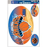 New York Knicks Official NBA 11 inch x 17 inch Car Magnet 3-Pack Set by Wincraft