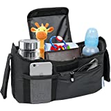 Deluxe Stroller Organizer Universal Fit for all Strollers...