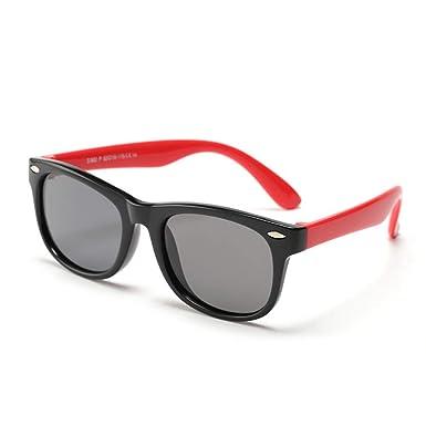 Amazon.com: CXUKUN - Gafas de sol para niños y niñas (goma ...