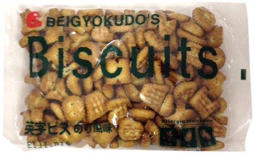 US Gyokudo food alphabetic screw glue flavor 190gX12 bags by US Gyokudo food