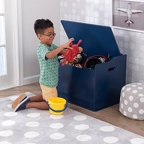 "51ommBgoKsL - KidKraft 14959 Austin Toy Box, Blueberry, 30Lx18Wx21.25""H"