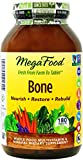 MegaFood - Bone, Promotes & Maintains Healthy Bones & Teeth, 180 Tablets (Premium Packaging)