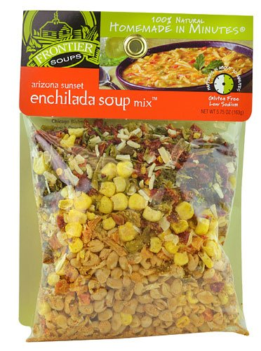 Frontier Soups Homemade In Minutes Arizona Sunset Enchilada Soup Mix   5 75 Ounce   2 Pack