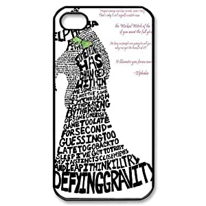 YUAHS(TM) New Cell Phone Case for Iphone 4,4S with Musical Wicked YAS960209