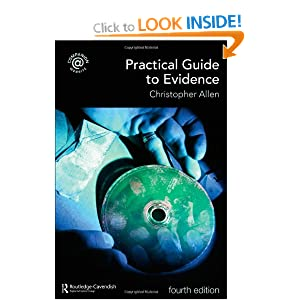 Practical Guide to Evidence Christopher Allen