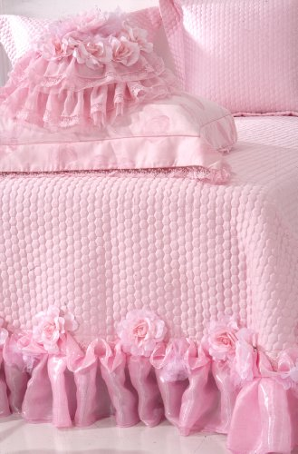 Diaidi Luxury Bedding Set Romantic Wedding Bedding Pink