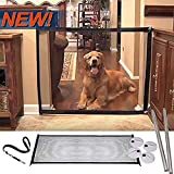 WAQIA PET Magic Gate Portable Folding Safe Guard Install Anywhere Pet Safety Enclosure Commercial Magic Gate For Pets Dog Cat As Seen On TV