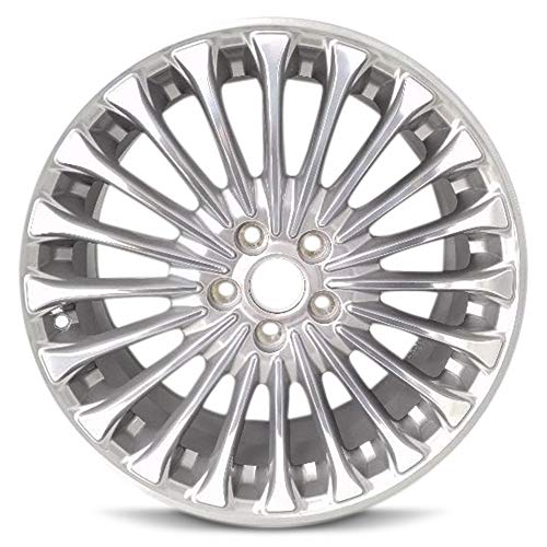 Road Ready Car Wheel For 2013-2016 Ford Fusion 18 Inch 5 Lug Silver Aluminum Rim Fits R18 Tire - Exact OEM Replacement - Full-Size Spare
