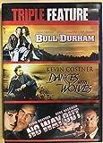 Triple Feature DVD Bul Durham, Dances With Wolves, & No Way Out 3 Disc Set