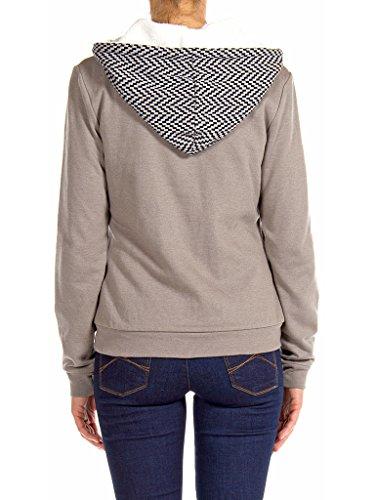 Manche 854 848 Gris Taille Femme shirt Longue Pour Carrera Jeans Normale Sweat qtSnx18