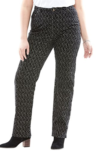 Plus Size Corduroy Pants - 3