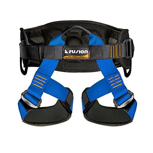 padded climbing harness - 1
