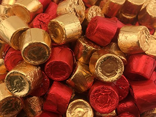 ROLO Milk Chocolate Chewy Caramels Candy, Gold and Red foils (Pack of 2 Pounds)