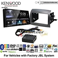 Volunteer Audio Kenwood DDX9904S Double Din Radio Install Kit with Apple CarPlay Android Auto Bluetooth Fits 2004-2010 Toyota Sienna with Amplified System