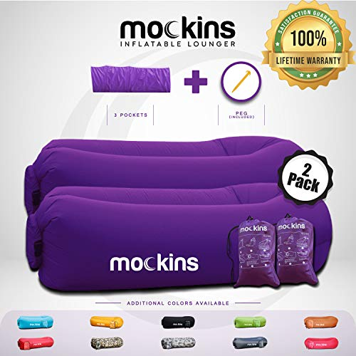 Mockins 2 Pack Purple