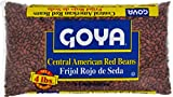 Goya Foods Central American Red Beans, 4 Pound (Pack of 6)
