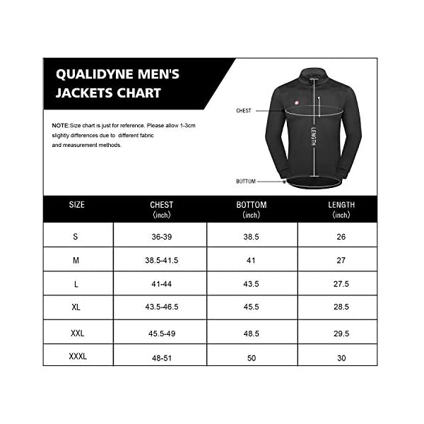 Winter Thermal Running Jacket Windproof Breathable Reflective Softshell Windbreaker qualidyne Cycling Bike Jacket for Men