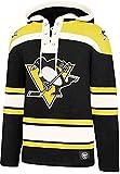 47 Brand NHL Pittsburgh Penguins Lacer Hoody Jersey Trikot Kapuzenpullover Forty Seven