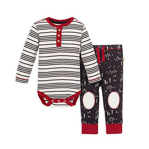 Burt's Bees Baby - Bodysuit & Pant Set, 100% Organic Cotton