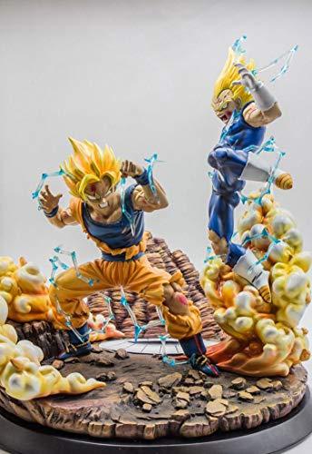 Flowe Mow Dragon Ball Z - 1/4 Scale Kakarotto Vs Vegeta Figure - Collection ()