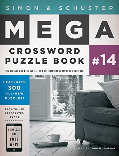 Simon & Schuster Mega Crossword Puzzle Book #14 (S&S Mega Crossword Puzzles)