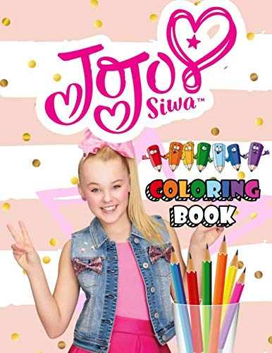 JoJo Siwa Coloring Book: Lovely Coloring Book With Cool Images(Unofficial)