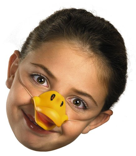 Daffy Duck Mask - One Size Costume Duck