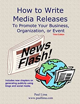 Writing a press release to promote a business