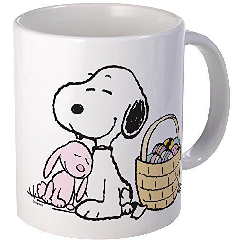 (CafePress Beagle And Bunny Mug Unique Coffee Mug, Coffee Cup)