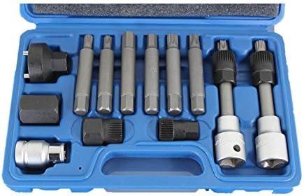 TEMO 13 piece Alternator Engine Auto Tool Set Kit for Mercedes Benz BMW Bosch