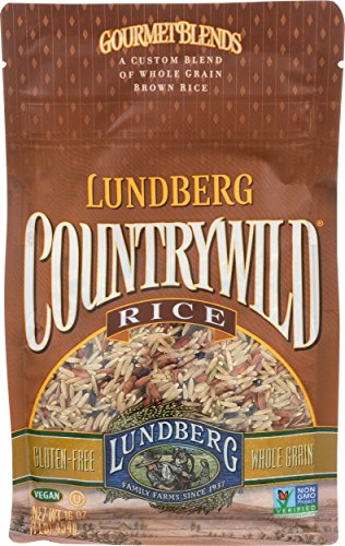 Lundberg Family Farms Countrywild Rice, 16 Ounce (Pack of 6)