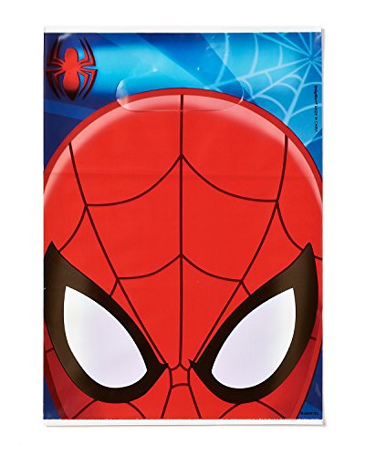 Spider-Man Treat Bags, Pack of 8, Party Supplies (Spider Man Treat Bags)