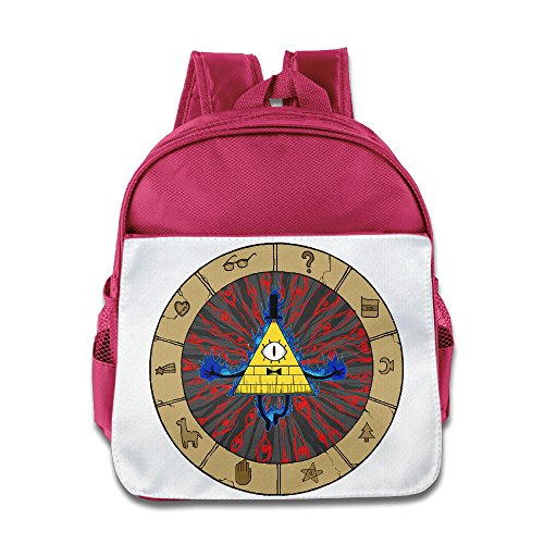 HYRONE Gravity Bill Cipher Falls Boys And Girls School Bagpack Bag For 1-6 Years Old (Wreck It Ralph Characters Costumes)
