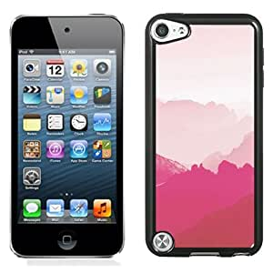 Pink Mountains Durable High Quality iPod 5 Phone Case