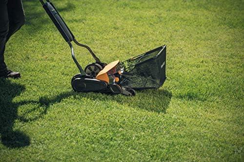 Fiskars StaySharp Grass Catcher For Reel Mower Grass Catchers Lawn ...