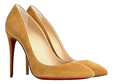 competitive price abaf4 aa97d Amazon.com | Christian Louboutin Pigalle Follies 100mm $780 ...