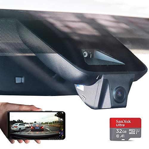 Dash Camera for Car 2018/2019 Toyota Highlander Hidden Dash Cam with WiFi Front Lens 1080P FHD 170° Wide Angle G-Sensor Parking Monitor Loop Recording Night Vision APP(Android, iOS) (second hand) (The Best Dash Camera 2019)