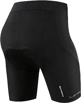 Letook Pantalones Ciclismo Mujer Cortos, Pantalon Corto de ...