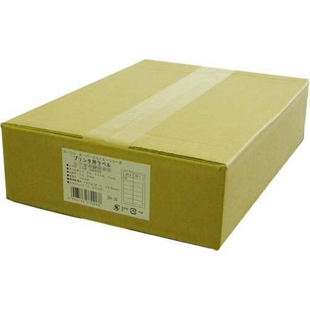 エーワン ラベルシール プリンタ兼用 18面 500枚 L18AM500 B005J0YKPW 18面
