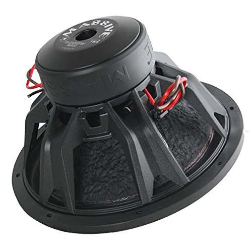 Car Subwoofer by Massive Audio TOROX154 - Bass and Sound Quality Woofer for Trucks, Cars, Jeeps - 15 Inch Car Audio 2,000 Watt Competition Subwoofer (Dual 4 Ohm - 3 Inch Voice Coil). Sold As Each