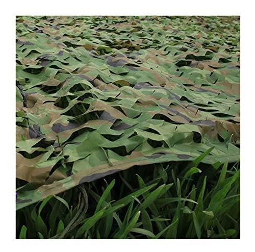 カモフラージュネット、軍用カモフラージュネット、オックスフォード布カモフラージュネット/カモフラージュカバー隠しキャンプに適し、様々なサイズと色があります (色 : D, サイズ さいず : 7 * 8m)   B07HKFD12R