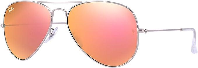 lunette ray ban aviator rose femme