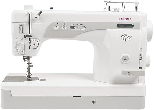 Janome 1600PQC - Máquina de coser: Amazon.es: Hogar